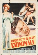 They Made Me a Criminal - Italian Movie Poster (xs thumbnail)