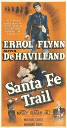 Santa Fe Trail - Movie Poster (xs thumbnail)