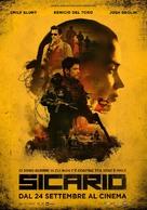 Sicario - Italian Movie Poster (xs thumbnail)