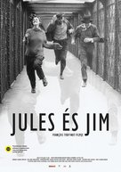 Jules Et Jim - Hungarian Movie Poster (xs thumbnail)