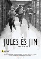 Jules Et Jim - Hungarian Movie Poster (xs thumbnail)