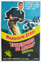 The Man Behind the Gun - Argentinian Movie Poster (xs thumbnail)
