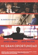 One Chance - Argentinian Movie Poster (xs thumbnail)