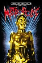 Metropolis - DVD cover (xs thumbnail)