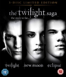 The Twilight Saga: New Moon - British Blu-Ray movie cover (xs thumbnail)