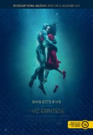 The Shape of Water - Hungarian Movie Poster (xs thumbnail)