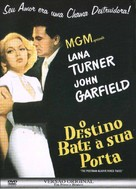 The Postman Always Rings Twice - Brazilian DVD movie cover (xs thumbnail)