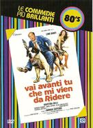 Vai avanti tu che mi vien da ridere - Italian DVD cover (xs thumbnail)