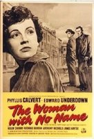 The Woman with No Name - British Movie Poster (xs thumbnail)