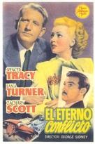 Cass Timberlane - Spanish Movie Poster (xs thumbnail)