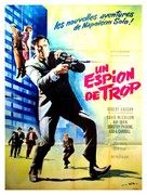 One Spy Too Many - French Movie Poster (xs thumbnail)
