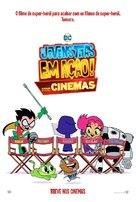 Teen Titans Go! To the Movies - Brazilian Movie Poster (xs thumbnail)