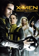 X-Men: First Class - Mexican DVD movie cover (xs thumbnail)