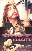 Lipstick - Finnish VHS movie cover (xs thumbnail)