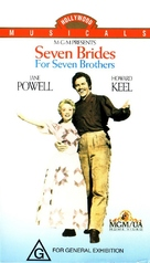 Seven Brides for Seven Brothers - Australian VHS movie cover (xs thumbnail)