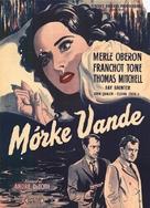 Dark Waters - Danish Movie Poster (xs thumbnail)
