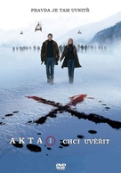 The X Files: I Want to Believe - Czech Movie Cover (xs thumbnail)