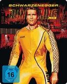 The Running Man - German Movie Cover (xs thumbnail)