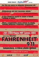 Fahrenheit 9/11 - Polish Movie Poster (xs thumbnail)