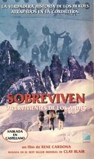 Survive - Argentinian VHS cover (xs thumbnail)