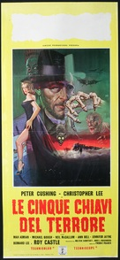 Dr. Terror's House of Horrors - Italian Movie Poster (xs thumbnail)