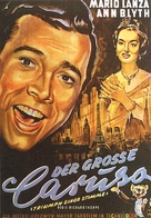 The Great Caruso - German Movie Poster (xs thumbnail)