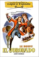 Bossu, Le - Spanish DVD movie cover (xs thumbnail)