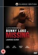 Bunny Lake Is Missing - British DVD movie cover (xs thumbnail)