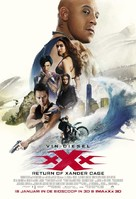 xXx: Return of Xander Cage - Dutch Movie Poster (xs thumbnail)
