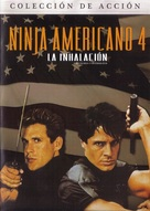 American Ninja 4: The Annihilation - Mexican DVD movie cover (xs thumbnail)