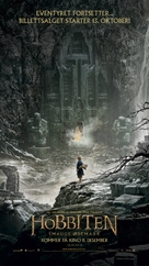The Hobbit: The Desolation of Smaug - Norwegian Movie Poster (xs thumbnail)