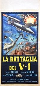 Battle of the V-1 - Italian Movie Poster (xs thumbnail)