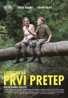 Les combattants - Slovenian Movie Poster (xs thumbnail)
