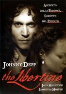 The Libertine - Italian Movie Cover (xs thumbnail)