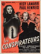 The Conspirators - French Movie Poster (xs thumbnail)