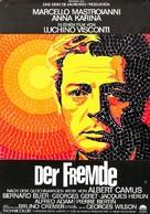 Lo straniero - German Movie Poster (xs thumbnail)