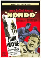 Hondo - Swedish Movie Poster (xs thumbnail)