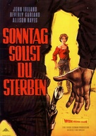 Gunslinger - German Movie Poster (xs thumbnail)