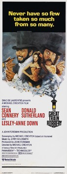 The First Great Train Robbery - Theatrical movie poster (xs thumbnail)