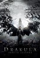 Dracula Untold - Slovenian Movie Poster (xs thumbnail)