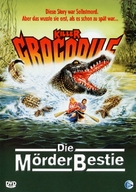 Killer Crocodile - German Movie Cover (xs thumbnail)