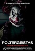 Poltergeist - Lithuanian Movie Poster (xs thumbnail)