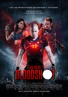 Bloodshot - Mexican Movie Poster (xs thumbnail)