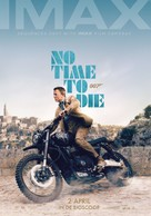 No Time to Die - Dutch Movie Poster (xs thumbnail)