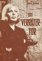 Das Verrätertor - German poster (xs thumbnail)