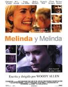 Melinda And Melinda - Spanish poster (xs thumbnail)