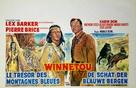 Winnetou - 2. Teil - Belgian Movie Poster (xs thumbnail)