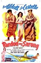 Pardon My Sarong - Movie Poster (xs thumbnail)