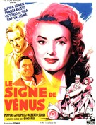 Il segno di Venere - French Movie Poster (xs thumbnail)