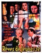 Four Daughters - Belgian Movie Poster (xs thumbnail)